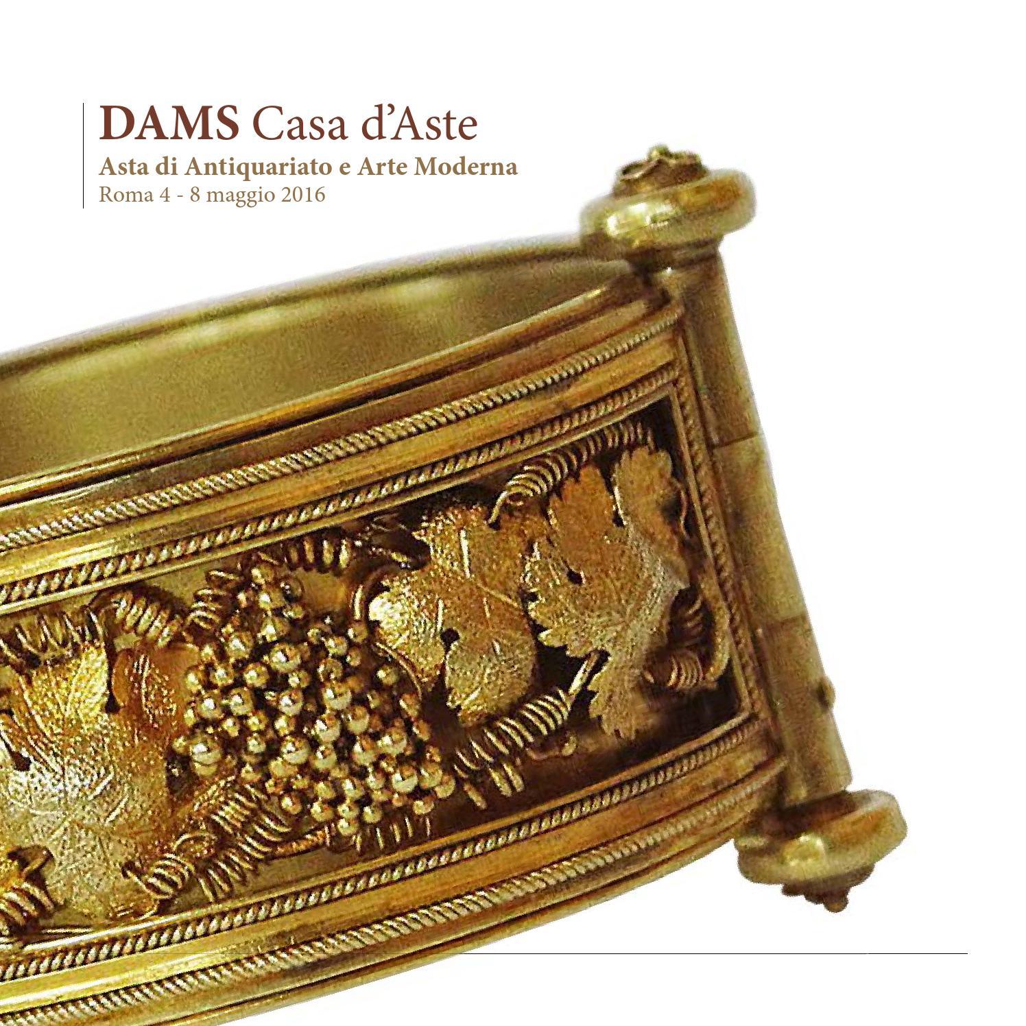 Catalogo asta 4 8 maggio 2016 by dams casa aste issuu for Case all asta roma