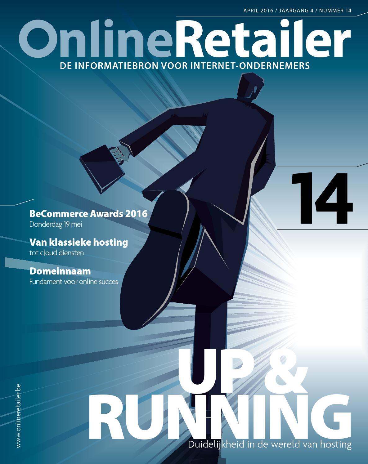 Magazine onlineretailer belgië editie 14 by online retailer ...