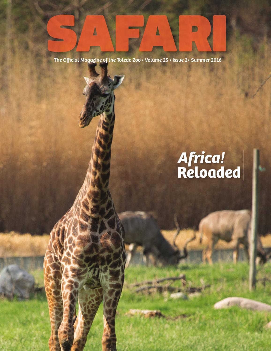 spring safari by safari magazine the toledo zoo issuu toledo zoo safari summer 2016