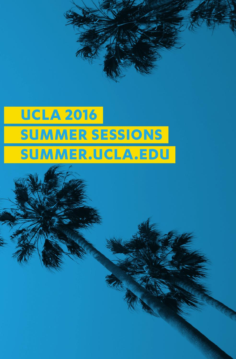 International Visiting Student | UCLA Summer Sessions