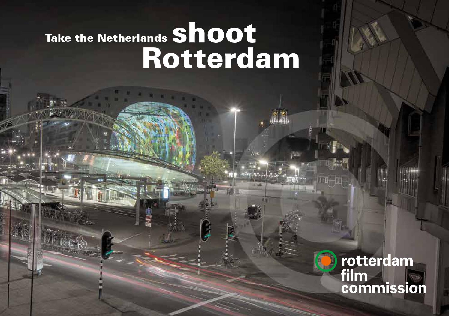 Brochure rotterdam film commission by rotterdam festivals for Rotterdam film