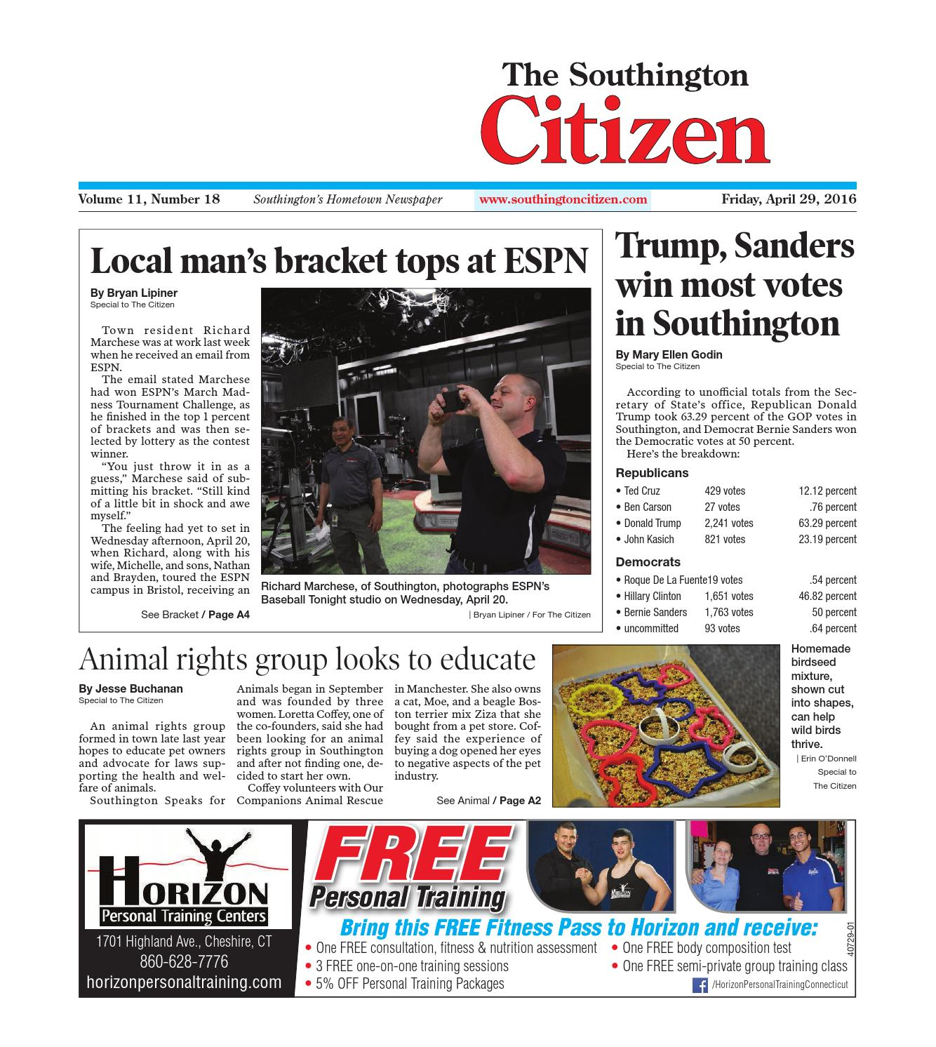 20160318southingtoncitizen By Dan Champagne Issuu