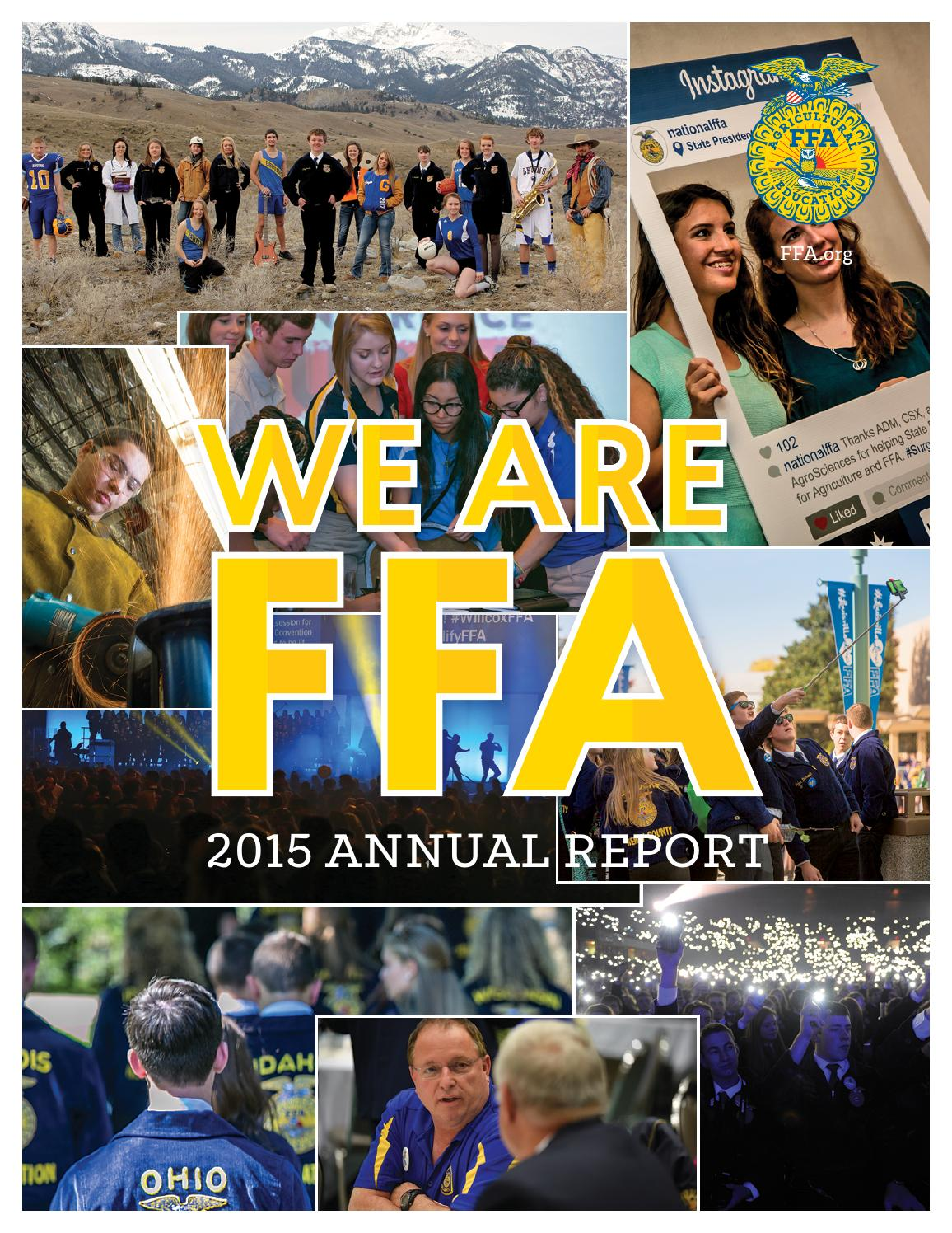 national ffa foundation annual report by national ffa 2012 national ffa foundation annual report by national ffa organization issuu