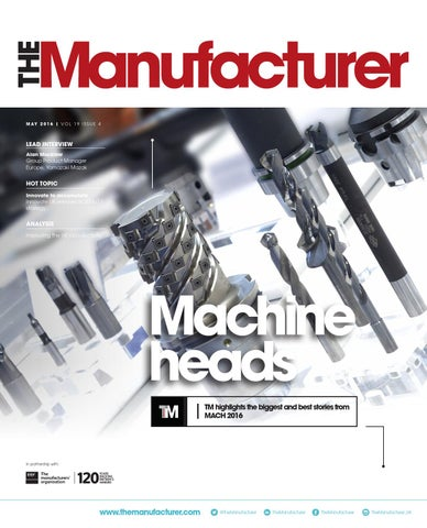 The Manufacturer May 2016