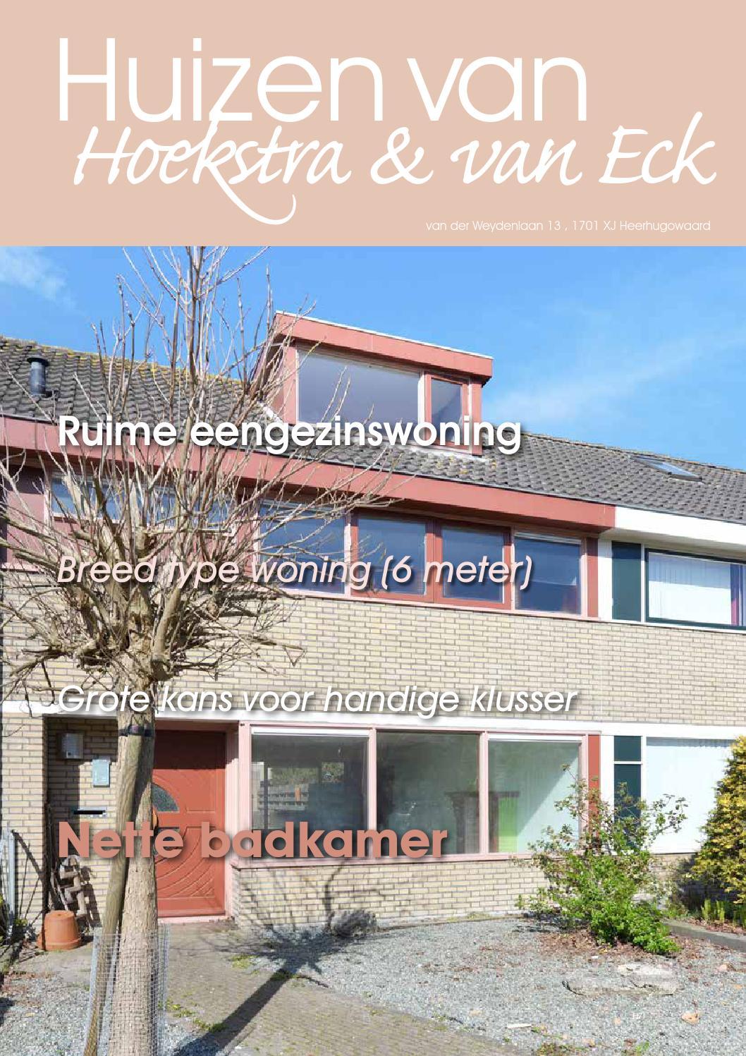 Heerhugowaard van der weydenlaan 13 by hoekstra en van for Van der meer makelaars