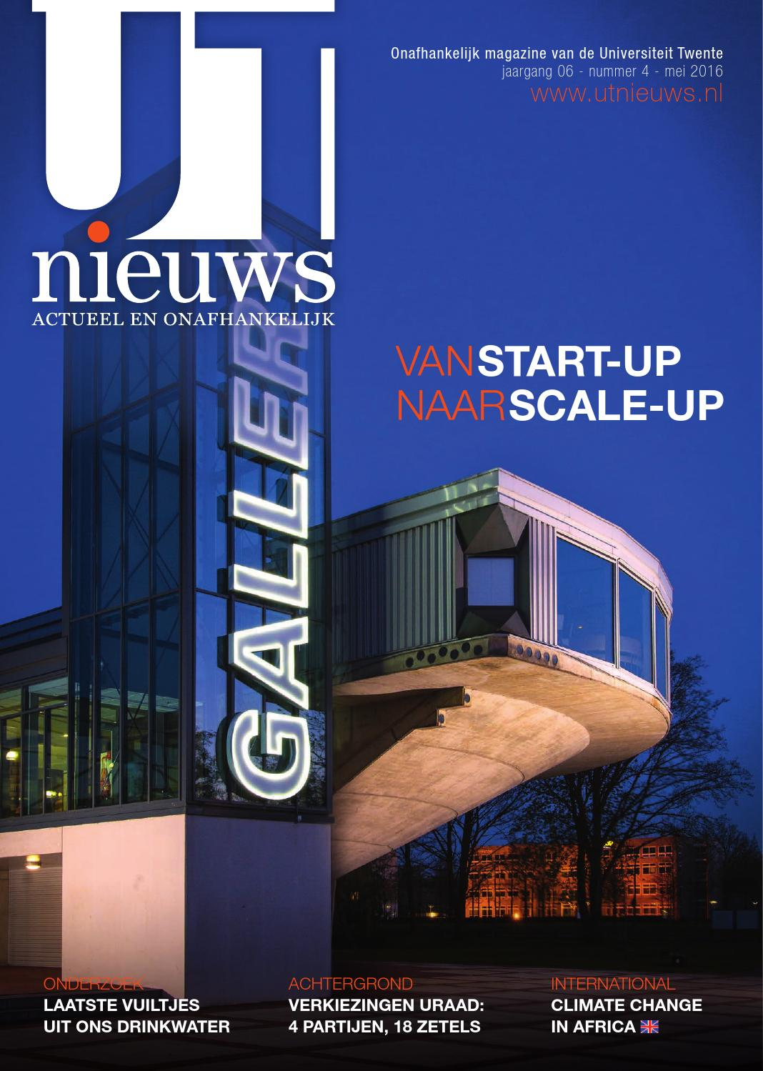 Ut nieuws magazine maart 2016 by redactie ut nieuws   issuu