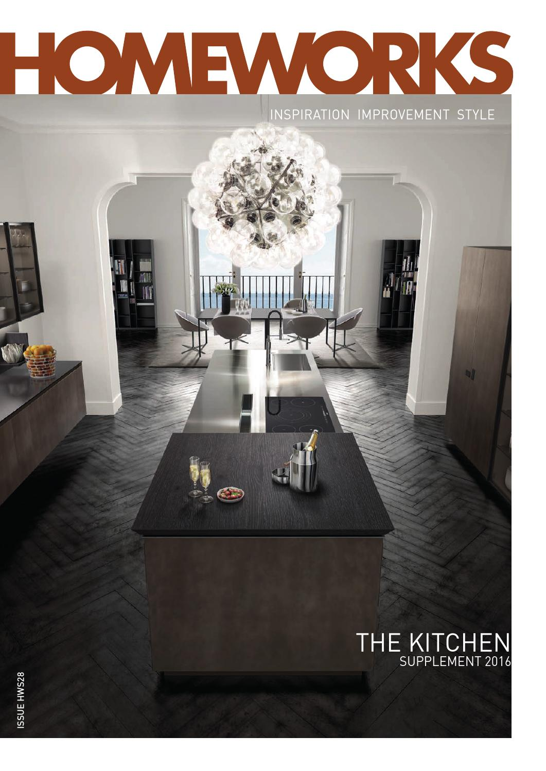 homeworks kitchen supplement 2016 by writeon ltd issuu antis fusion fitted kitchens euromobil
