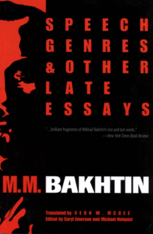 bakhtin essay