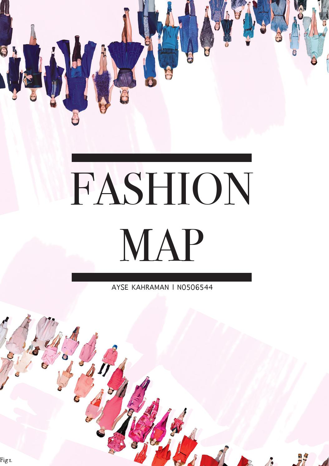 french connection by gemma giadom  fashion map trend report