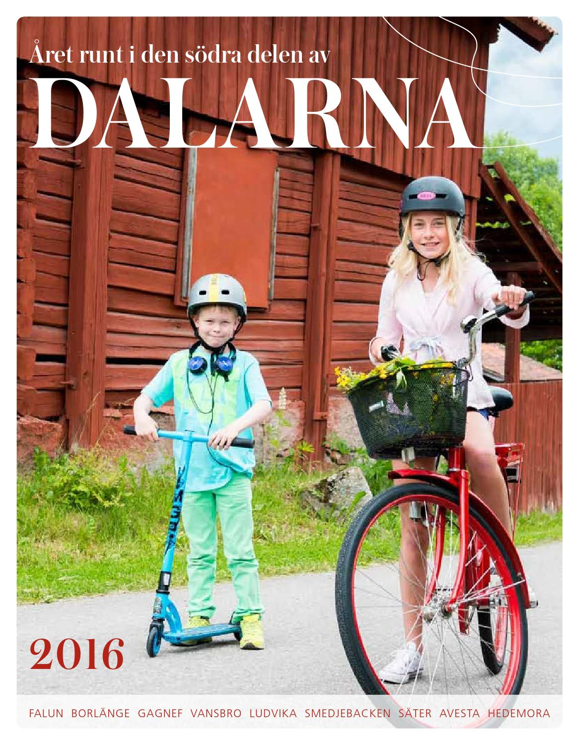 turistbroschyr s246dra dalarna 2016 by visit s246dra dalarna
