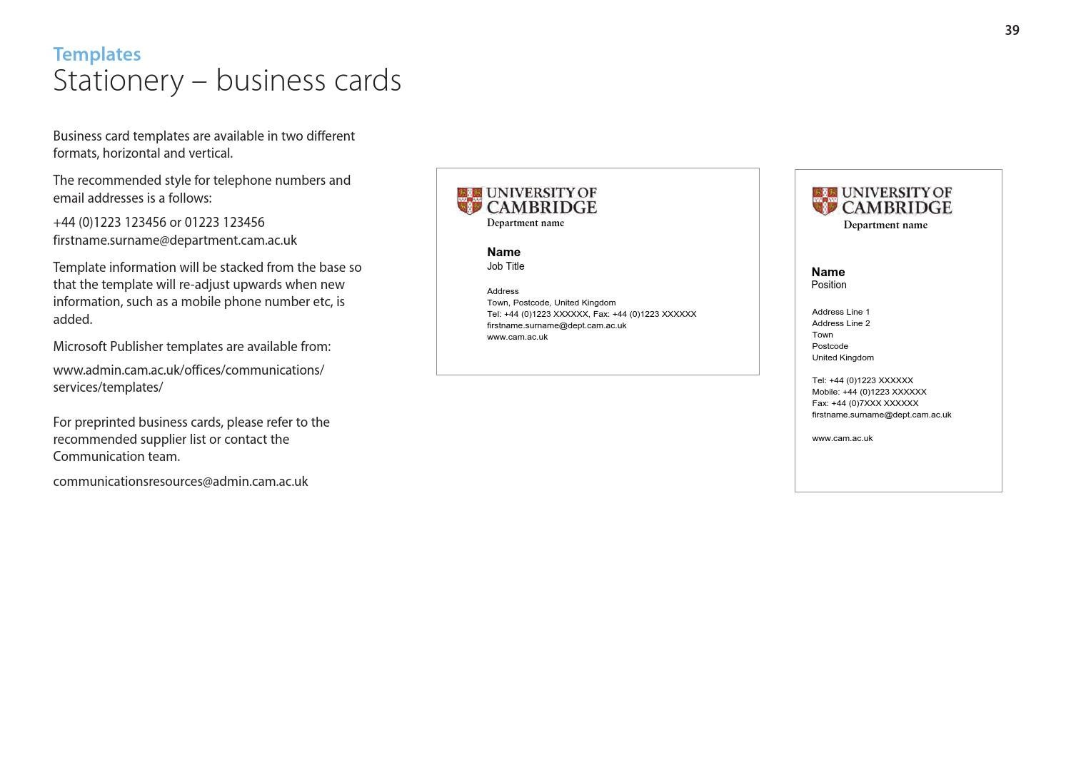 Business Card Titles Uk Gallery - Card Design And Card Template