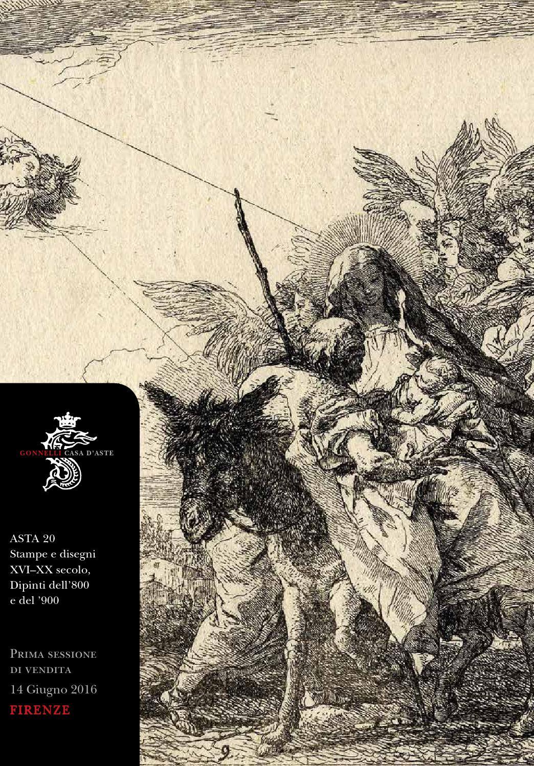 Asta 0020 stampe e disegni xvi xx secolo, dipinti dell'800 e del ...