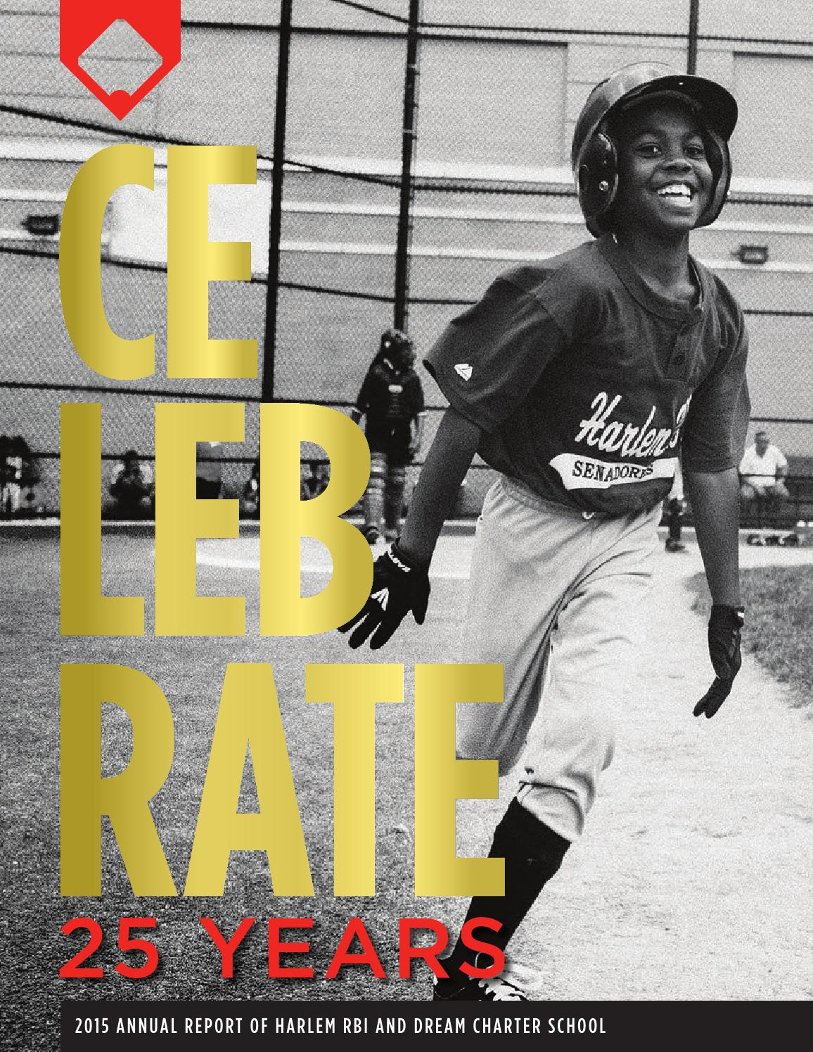 Harlem Rbi And Dream Charter School Annual Report 2015 By