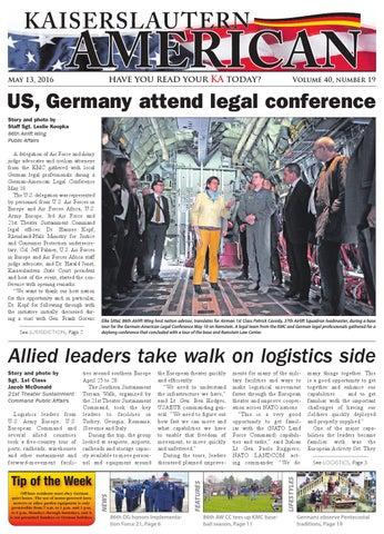 Kaiserslautern American, May 13, 2016