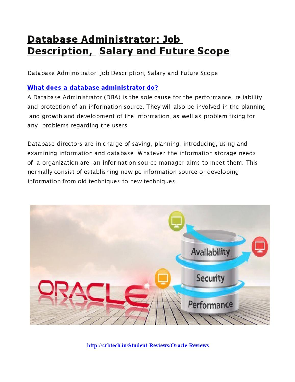system administrator job description