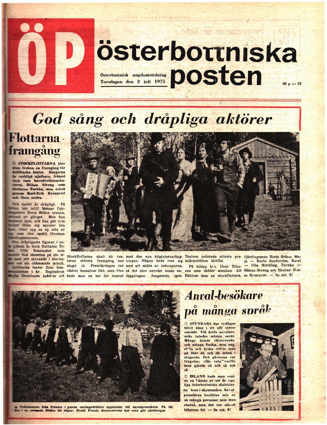 Österbottniska posten (Öp) nr. 27 1975 by Österbottniska posten ...