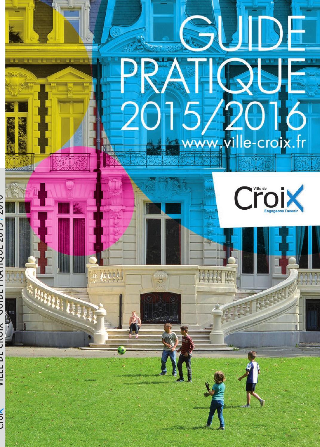 guide pratique croix 2015 2016 by ville de croix issuu. Black Bedroom Furniture Sets. Home Design Ideas