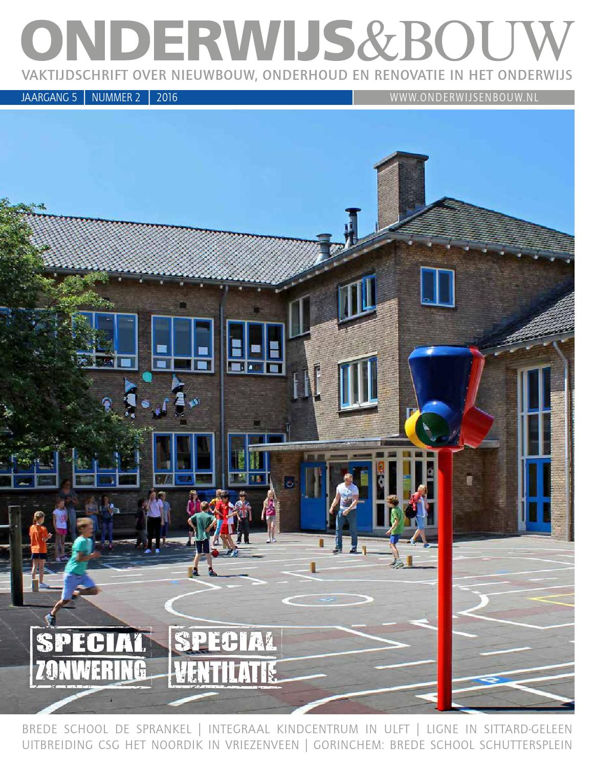 Onderwijs & bouw 03 2015 by louwers uitgeversorganisatie bv   issuu