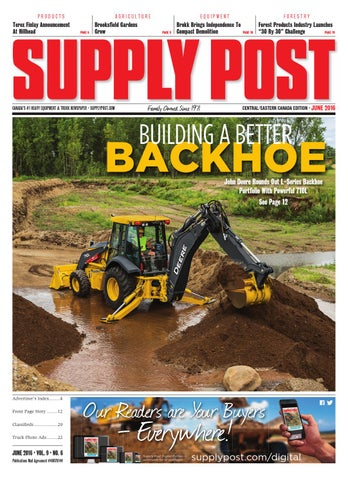 Supply Post Eastern Cover - May 2016