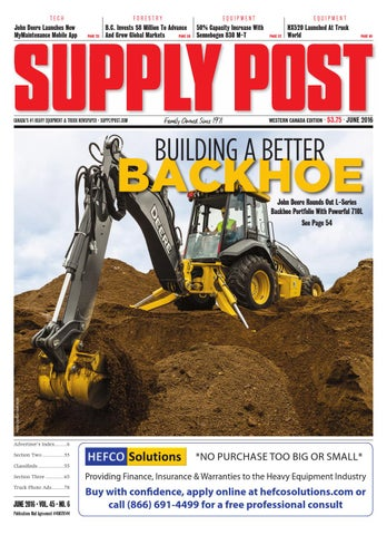 Supply Post Western Cover - May 2016
