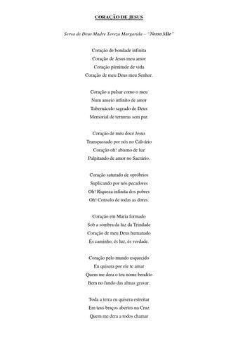 """[Poesia de """"Nossa Mãe"""" para o mês de junho, dedicado ao Sagrado Coração de Jesus]"""