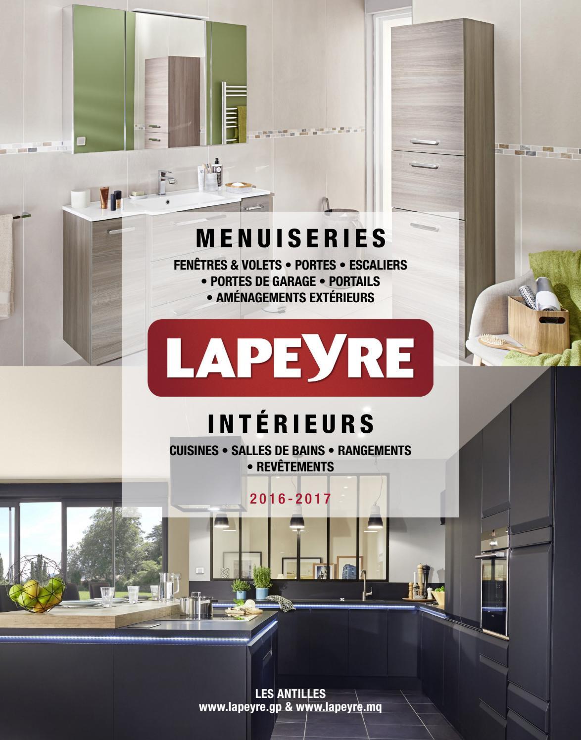 Modele salle de bain lapeyre for Catalogue lapeyre salle de bain pdf