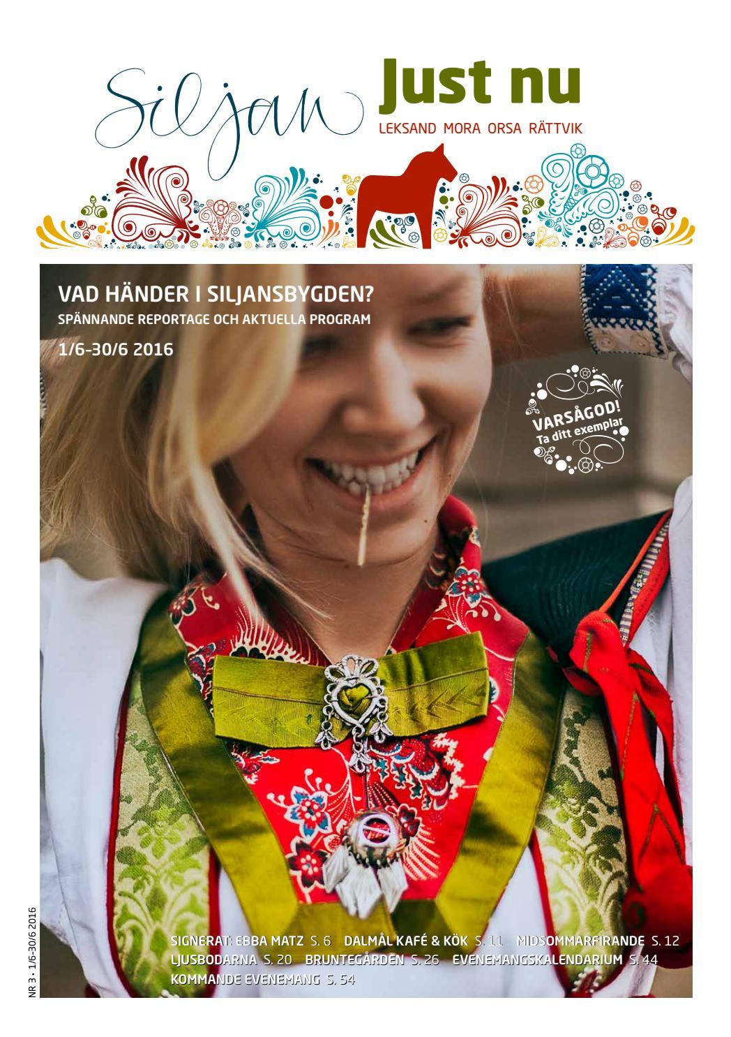 Siljan just nu 5 2016 by siljan turism   issuu