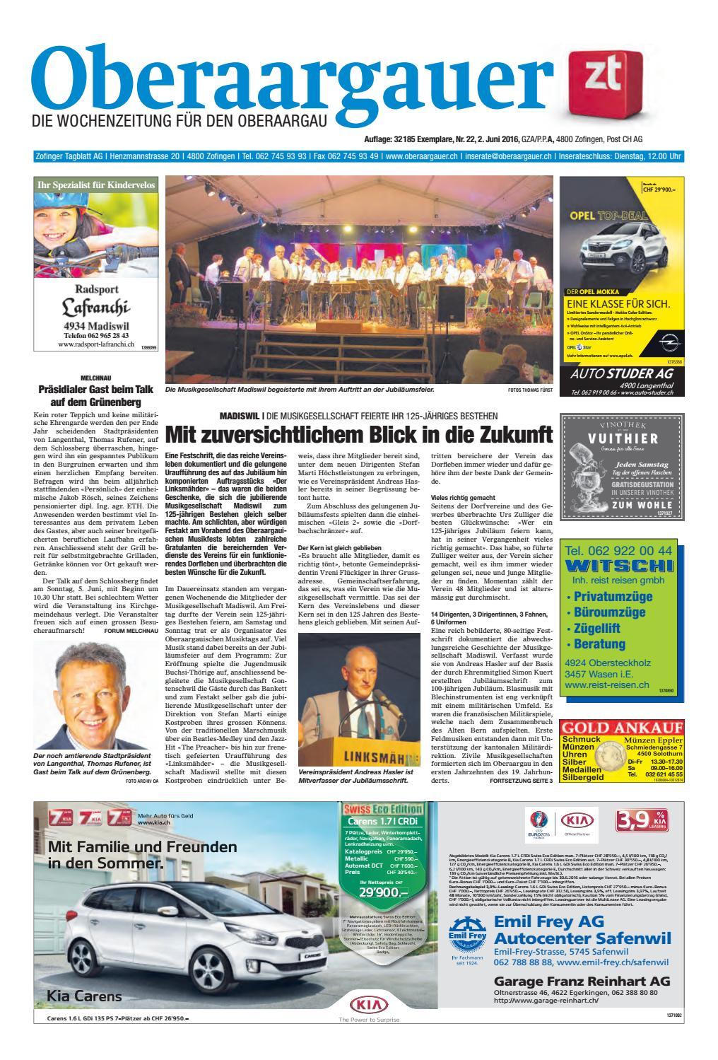 Oberaargauer 2216 by ZT Medien AG  issuu