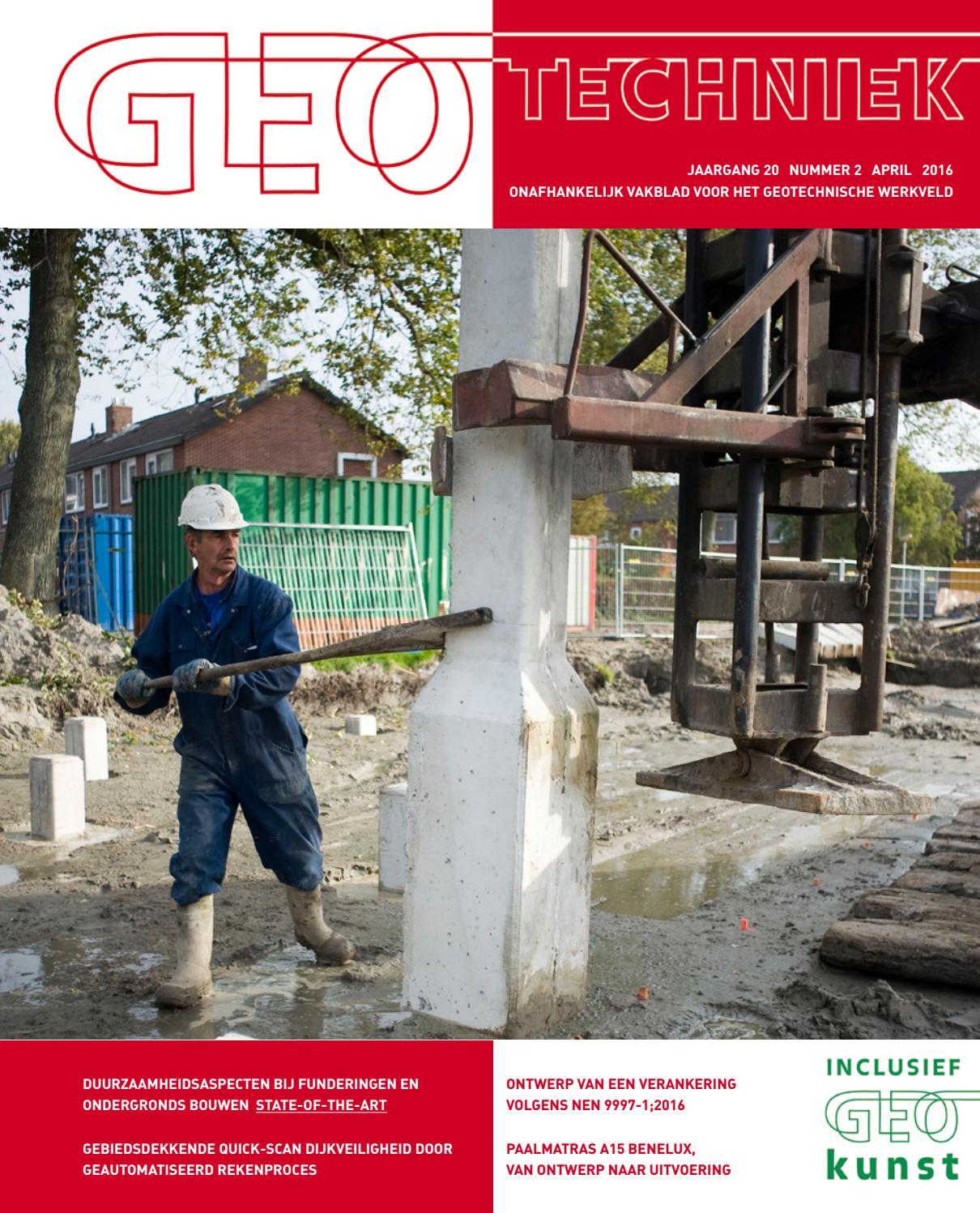 Geotechniek april 2016 by uitgeverij educom   issuu