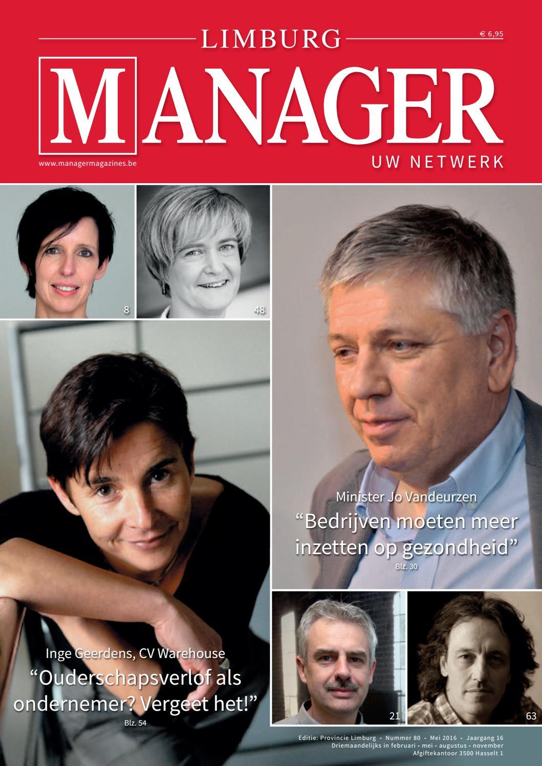 Limburg Manager 80 by Manager Magazines - issuu