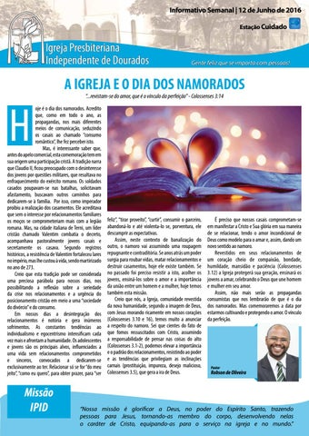 Boletim Informativo IPID     12 de Junho de 2016
