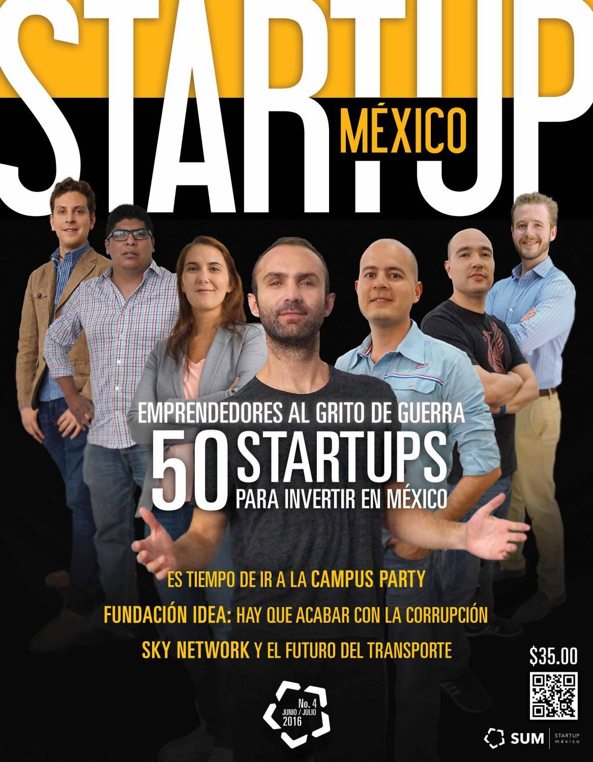 startup m u00e9xico n u00famero 4 by startup m u00e9xico