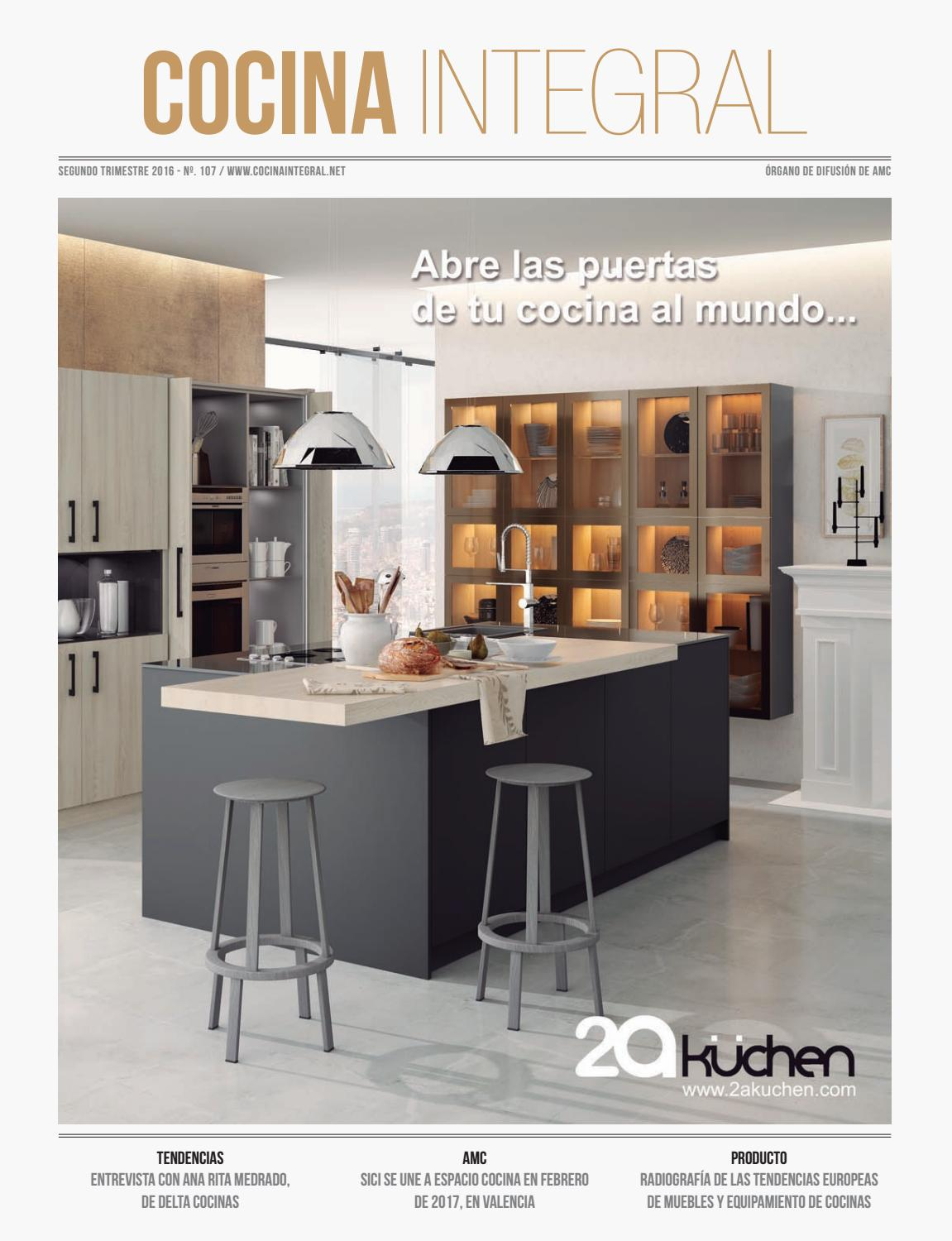 Cocina integral 107 by cocinaintegral issuu for Cocinas en hiraoka 2016