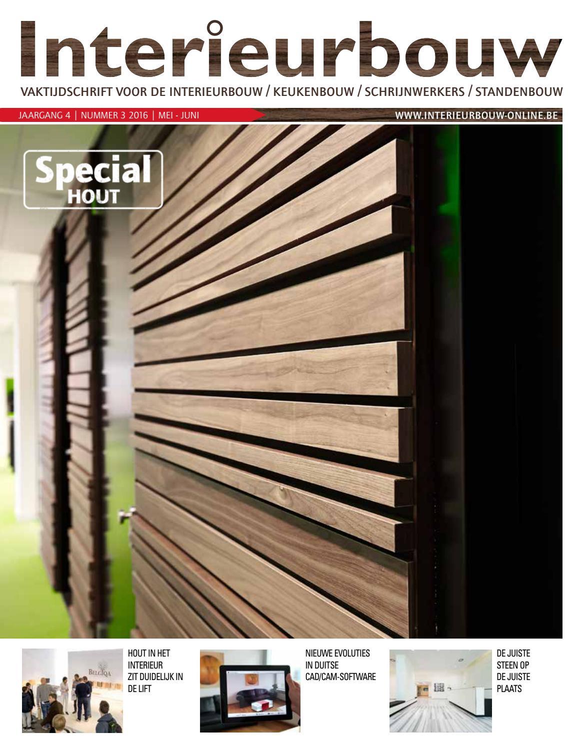 Interieurbouw 03 2016 by louwers uitgeversorganisatie bv   issuu