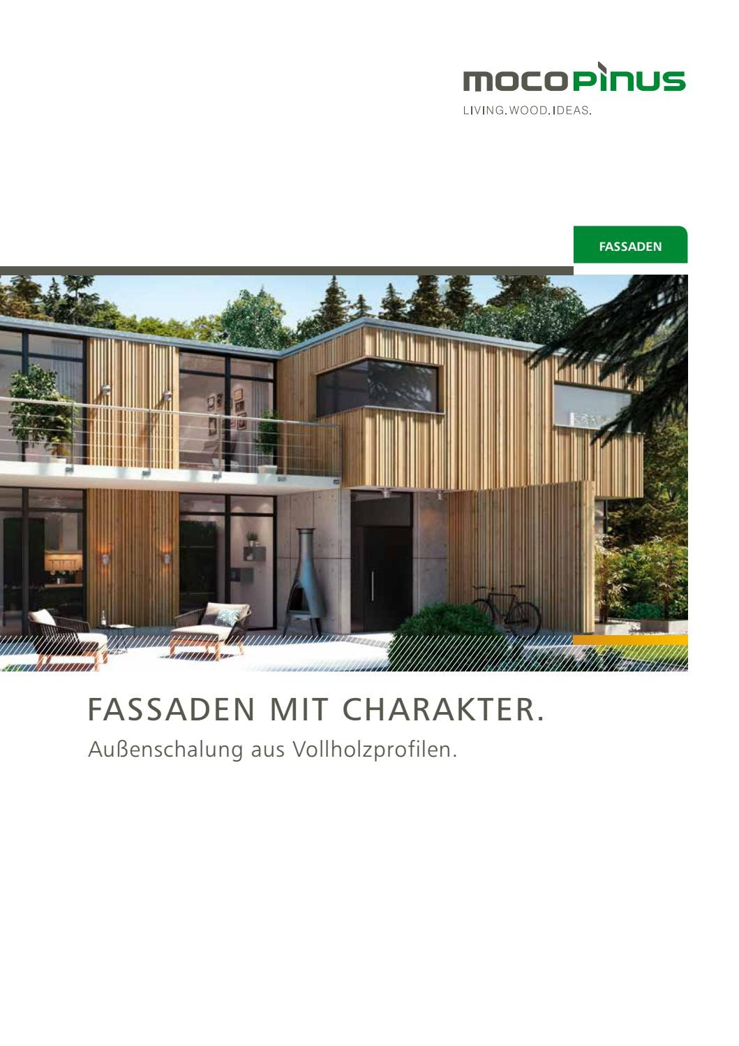 Mocopinus Fassaden By Kaiser Design Issuu