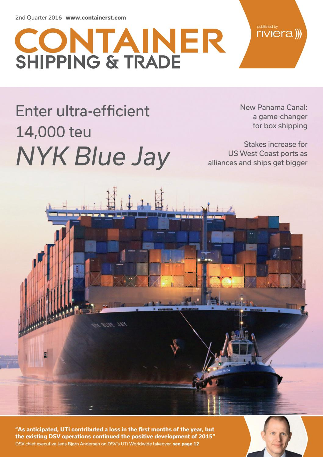 Container Shipping & Trade 2nd Quarter 2016 by ...