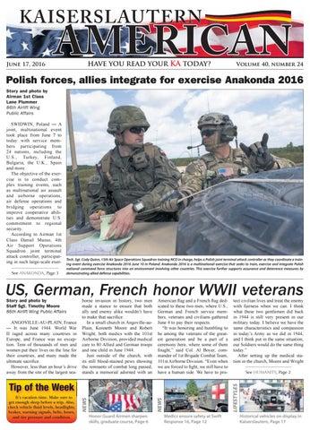 Kaiserslautern American, June 17, 2016