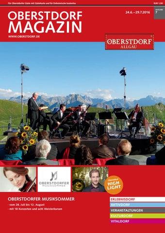Oberstdorf Magazin 07/2016