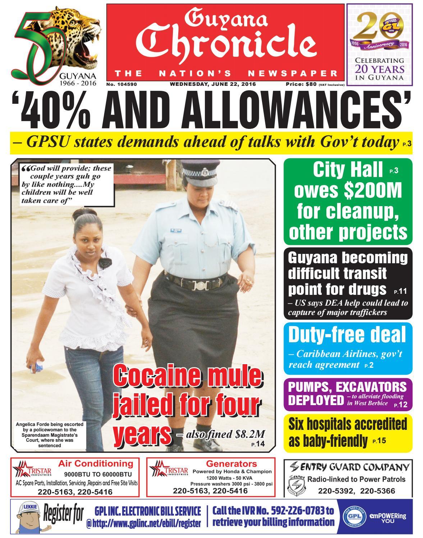 Guyana Chronicle E-Pap...