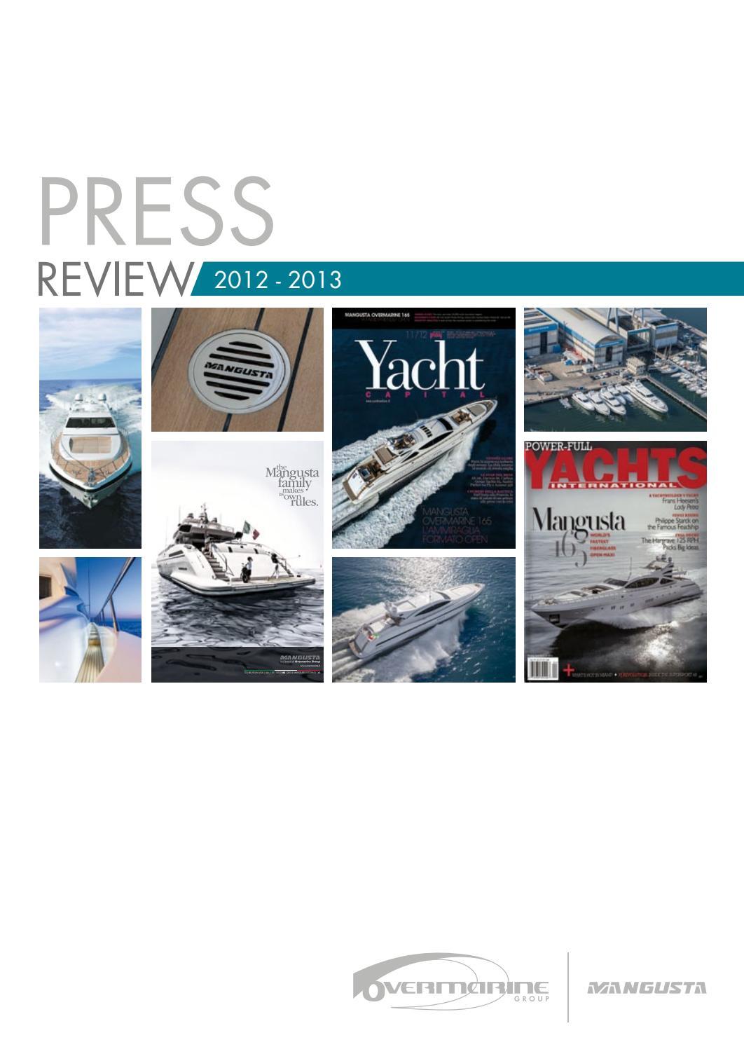 Overmarine Group Press Review 2014 by Overmarine_Mangusta - issuu