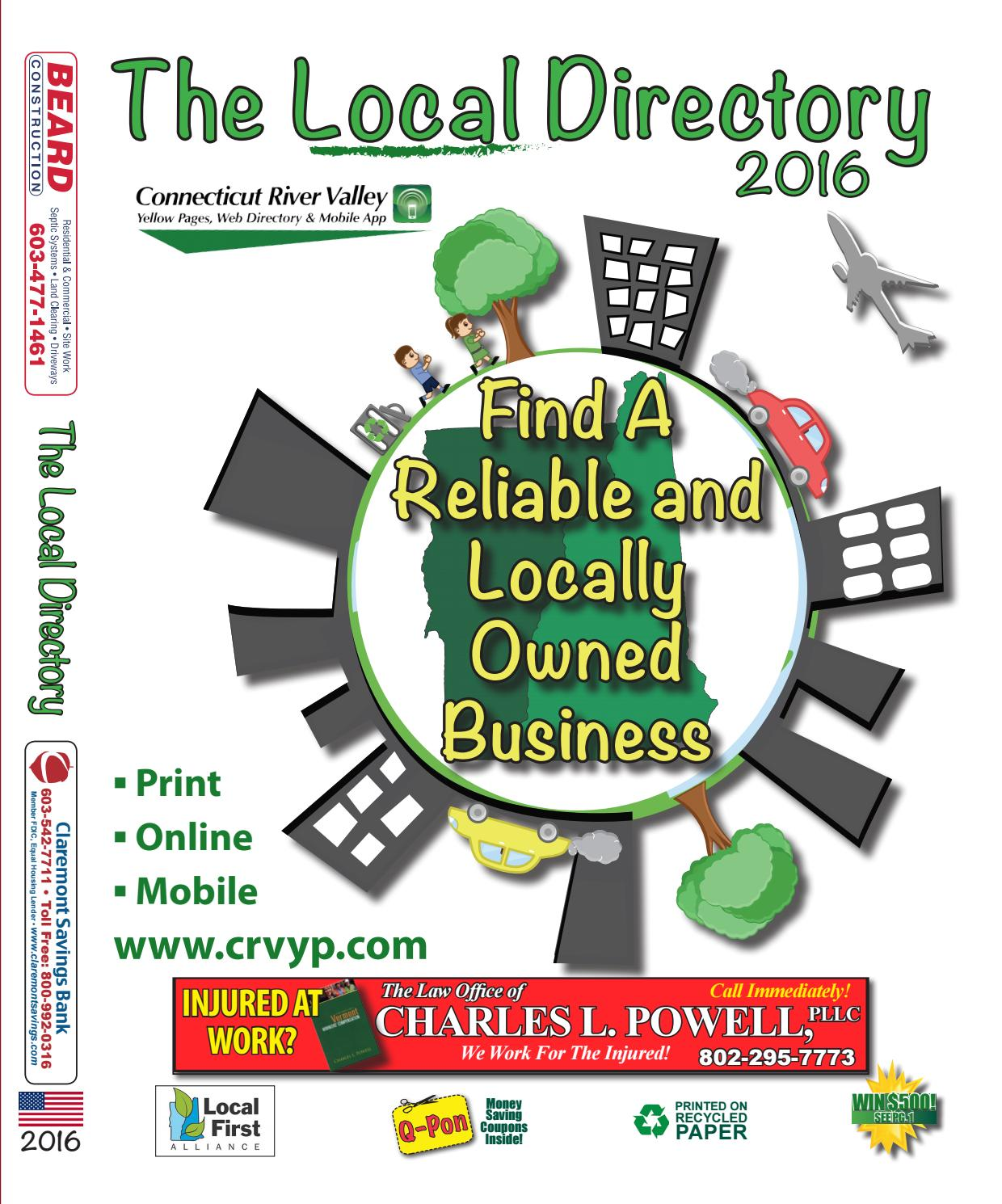 The Local Directory White Pages 2016 By Mason Marketing