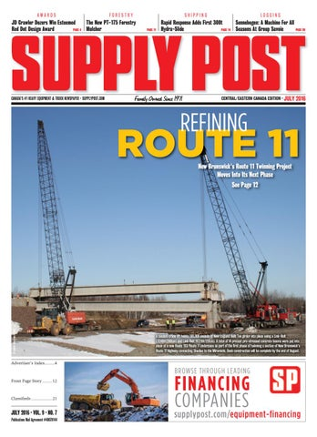 Supply Post Eastern Cover - June 2016