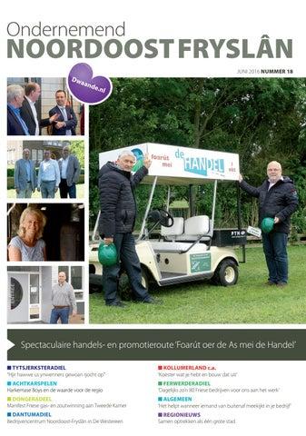 Ondernemend Noordoost Fryslân juni 2016