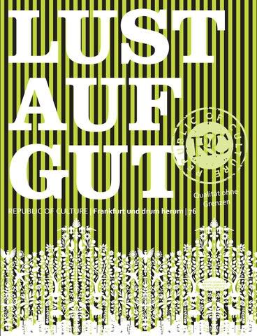 LUST AUF GUT Magazin | Frankfurt Nr. 76