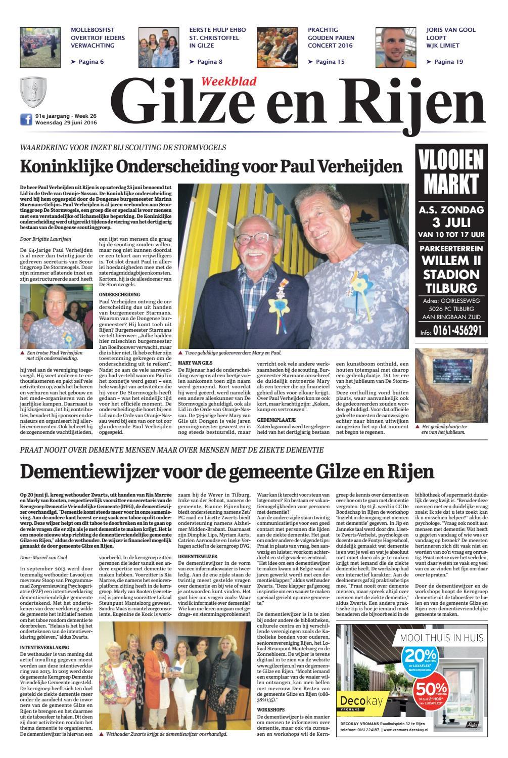 weekblad gilze en rijen 29062016 by uitgeverij em de