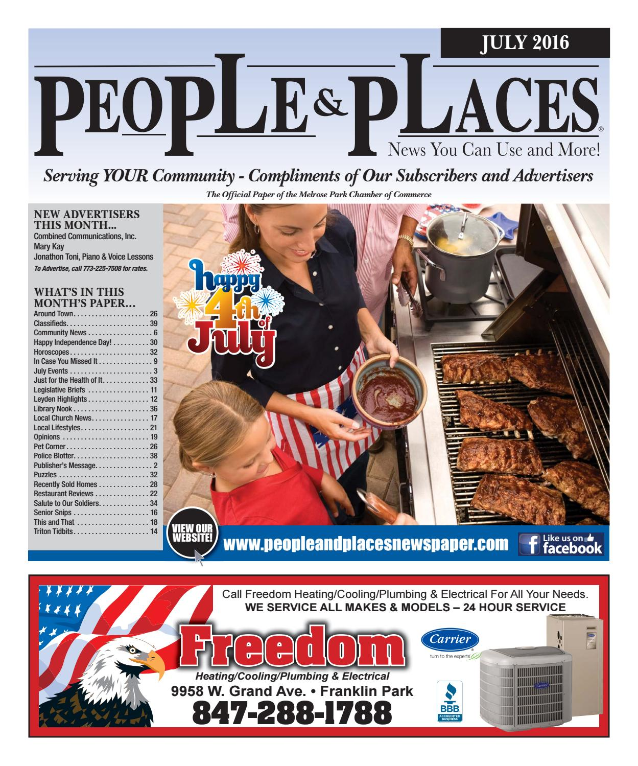 2016 people places newspaper by jennifer creative issuu