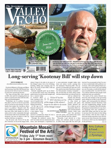 Invermere Valley Echo, June 29, 2016