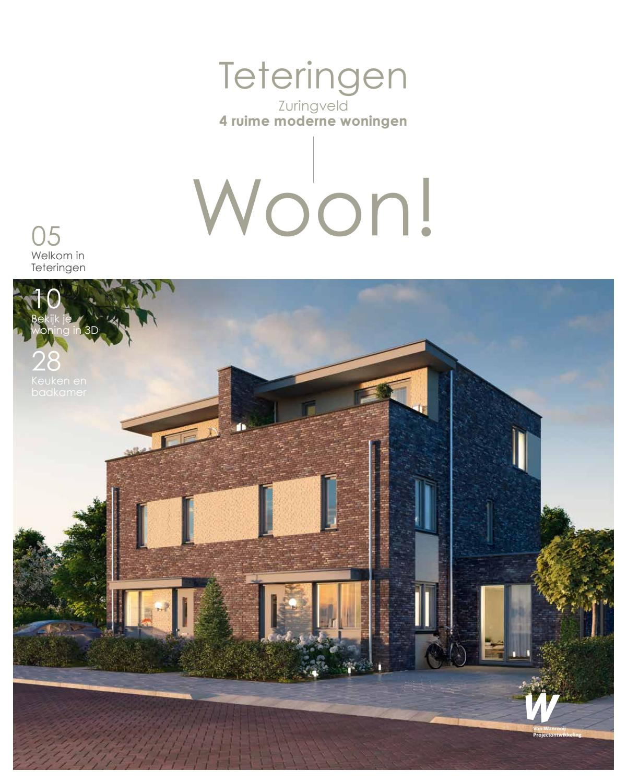 Woon!magazine teteringen: 4 tweekappers zuringveld by van wanrooij ...