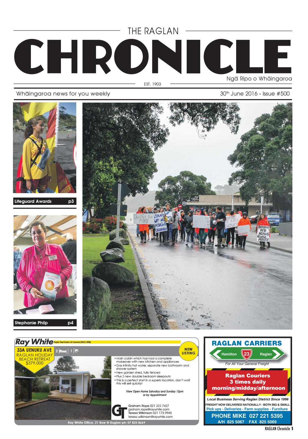 Raglan Chronicle By Raglan Chronicle Issuu