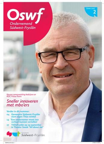 Ondernemend Súdwest-Fryslân juli 2016